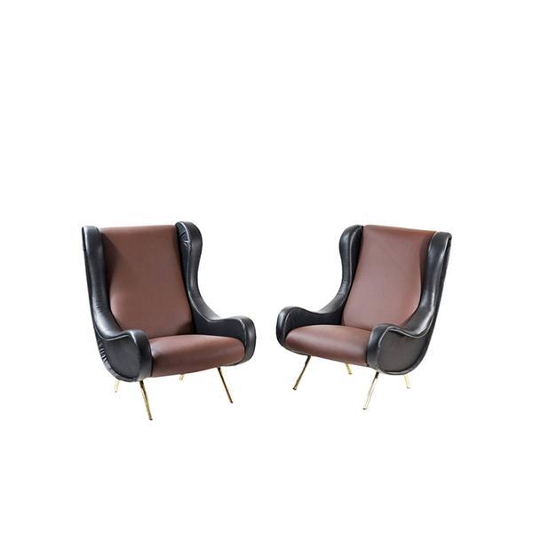 Marco Zanuso Senior Armchairs