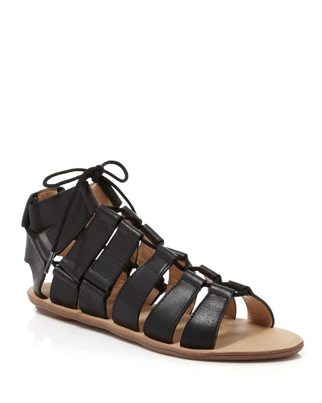 Loeffler Randall Skye Caged Flat Sandals
