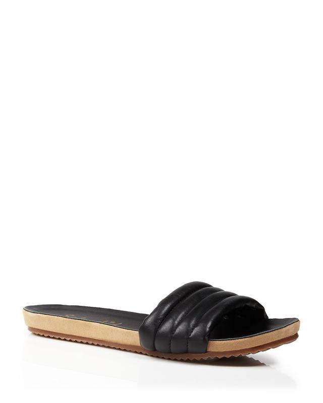 Splendid Tysan Leather Slide Sandals