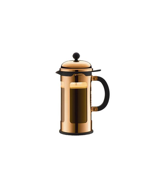 Bodum Chambord Copper 8-Cup French Press Coffee Maker