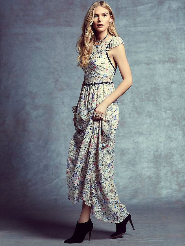 Free People Cherry Blossom Maxi