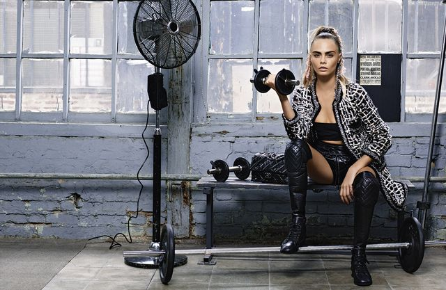 The Surprising Way Cara Delevingne Stands Up for Feminism
