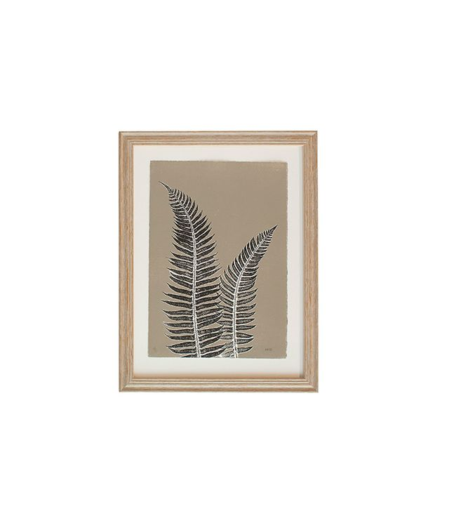 "Serena & Lily ""Gray Fern Study #1"" by Mary Margaret Briggs"