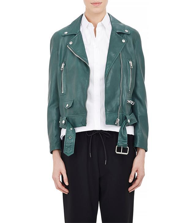 Acne Studios Lambskin Moto Jacket