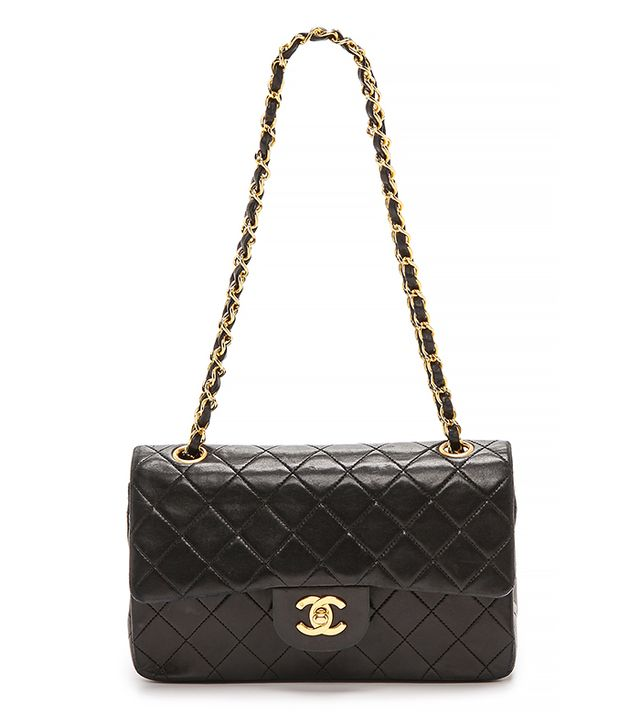 Chanel Vintage 2.55 Bag in Black