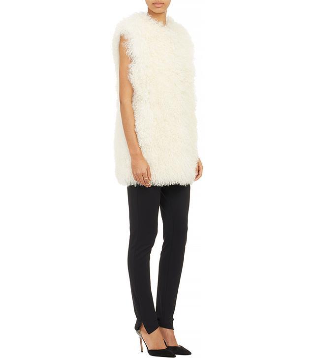 CO Curly Lamb Fur Vest