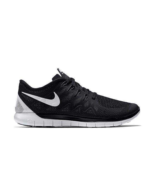 Nike Free 5.0 in Black and White