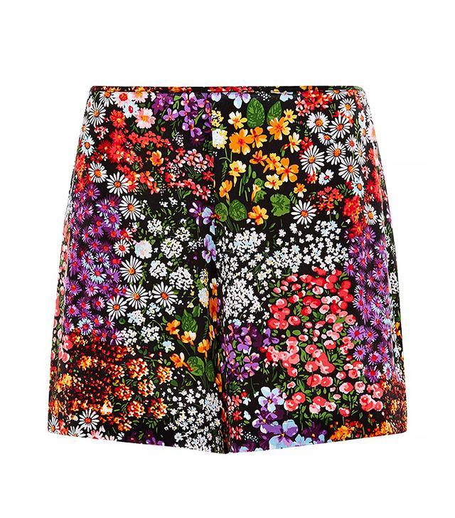 Equipment Lewis Floral Silk Shorts