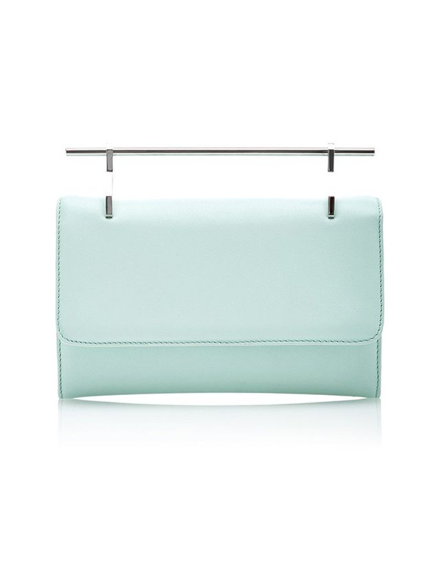 M2Malletier This Ladylike Handbag is the Perfect Color For Spring