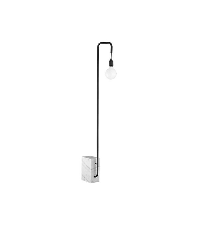 CB2 Marble Floor Lamp