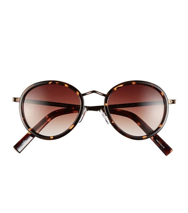 Cole Haan 48mm Round Sunglasses