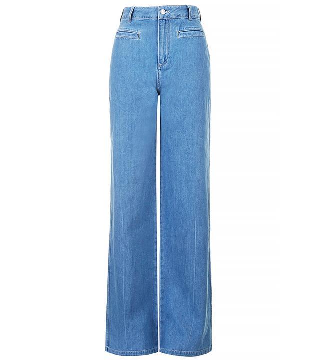 Topshop Miller Flared Jeans