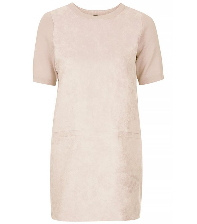 Topshop Siede Front Shift Dress