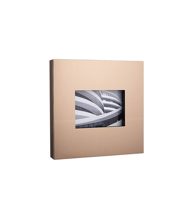 CB2 Kat Copper Picture Frame