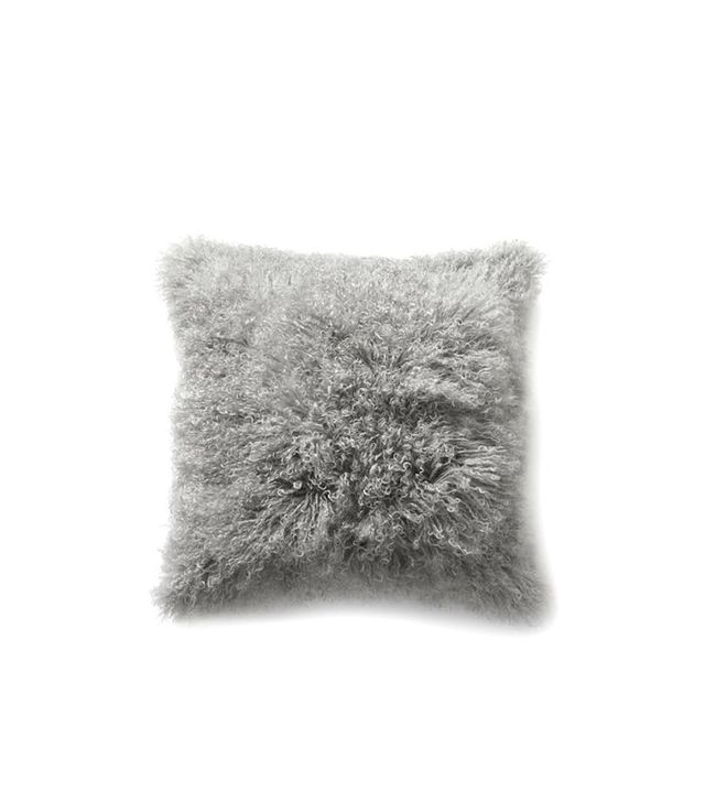 West Elm Mongolian Lamb Pillow