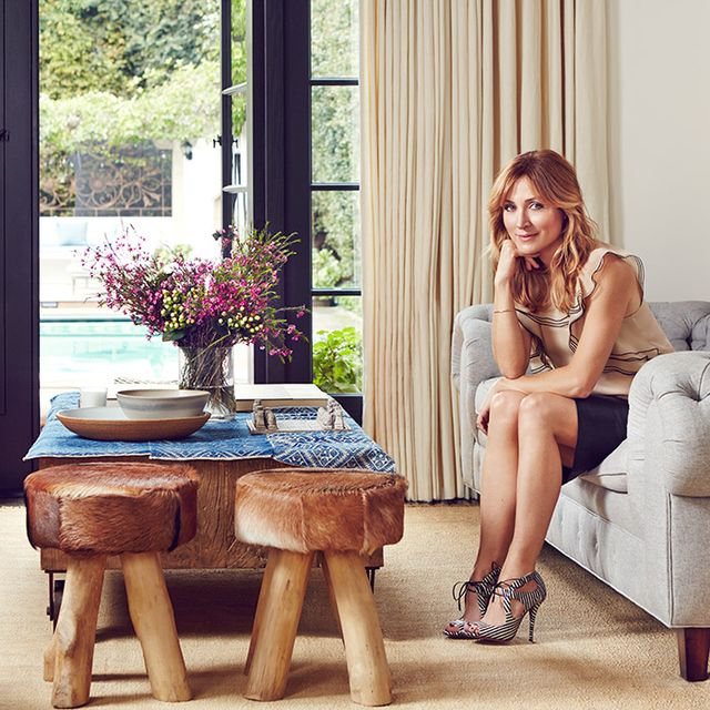 Before and After: Actress Sasha Alexander's European-Inspired L.A. Home