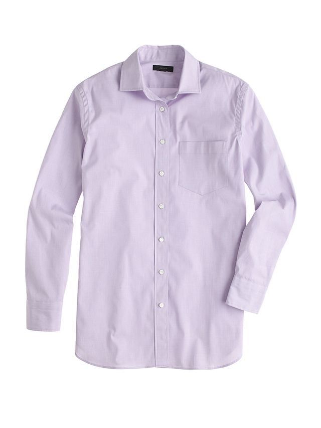 J. Crew End-on-End Long Shirt