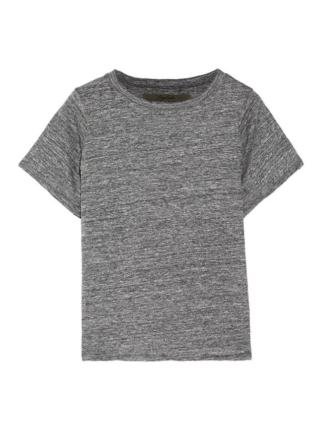 Enza Costa Slub Cotton T-Shirt