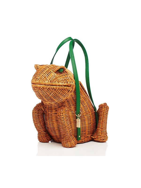 Kate Spade New York Spring Forward Wicker Frog