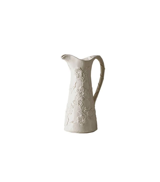 Anthropologie Petal Vines Pitcher