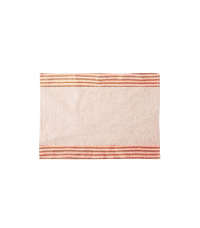 West Elm Border Stripe Yarn Dye Placemat Set