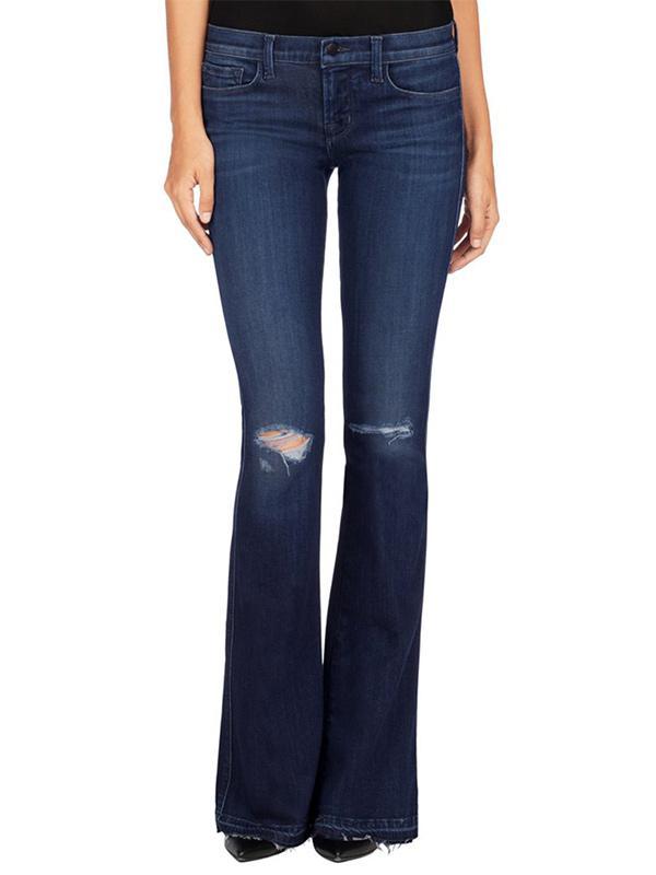 J Brand 1177 Low-Rise Martini Jeans