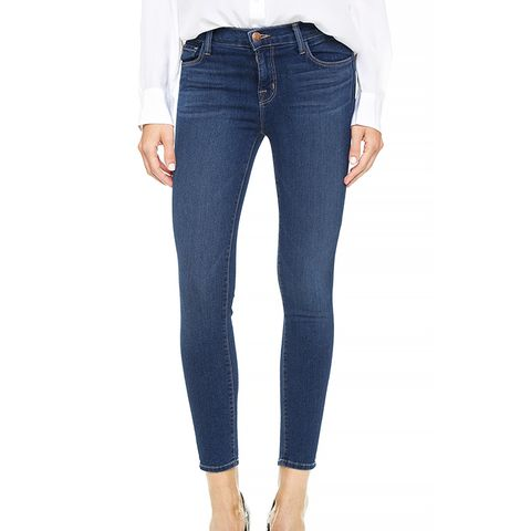 835 Mid Rise Crop Jeans