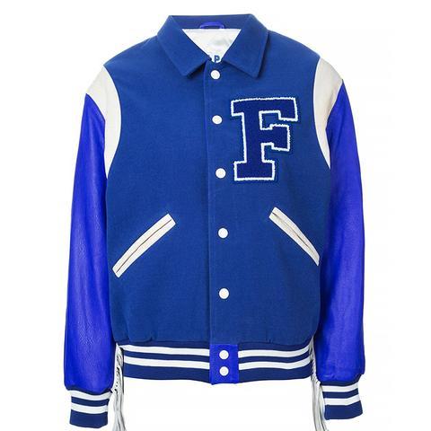 Fringed Baseball Jacket