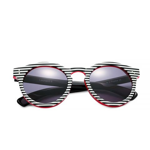 Striped Leonard II Sunglasses