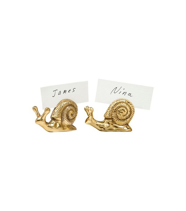 Target Snail Placecard Holder Set
