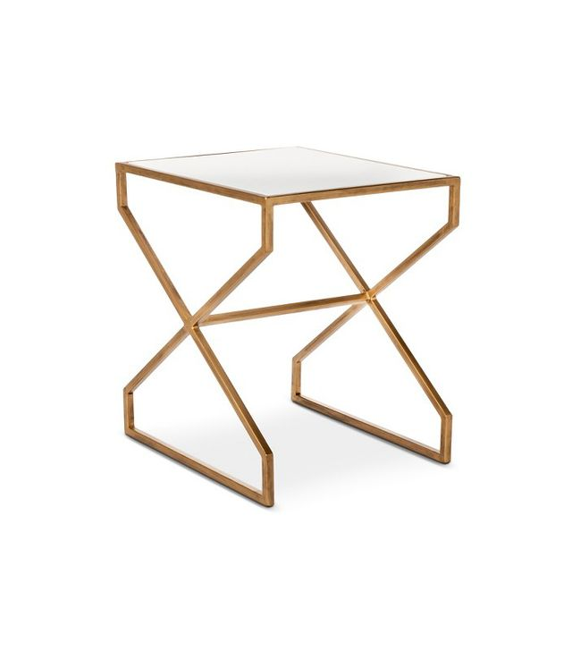 Target Brass Accent Table