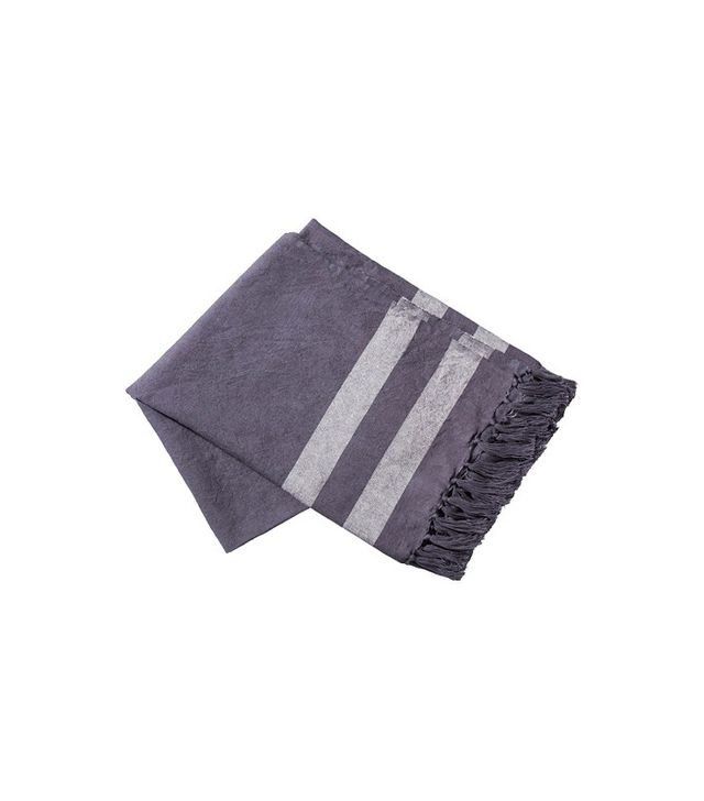 Target Woven Throw in Dark Grey