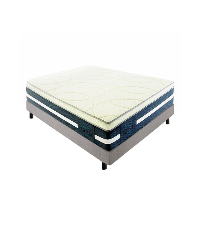 Lucid 16-Inch Plush Memory Foam and Latex Mattress