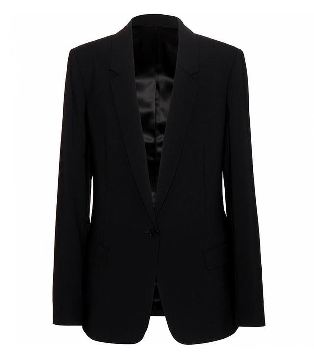 Acne Studios Single Bi Crepe Blazer