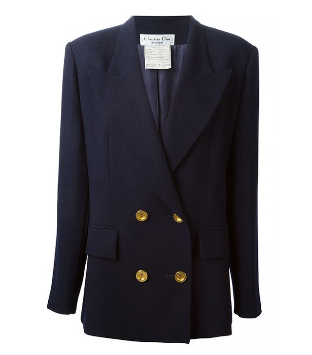 Vintage Christian Dior Double-Breasted Blazer