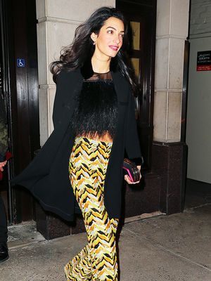 Amal Clooney Has a Thing for Prints: 9 Picks She'd Love