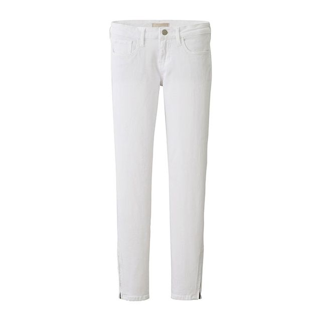 Uniqlo Women Ultra Stretch Ankle Length Jeans in White