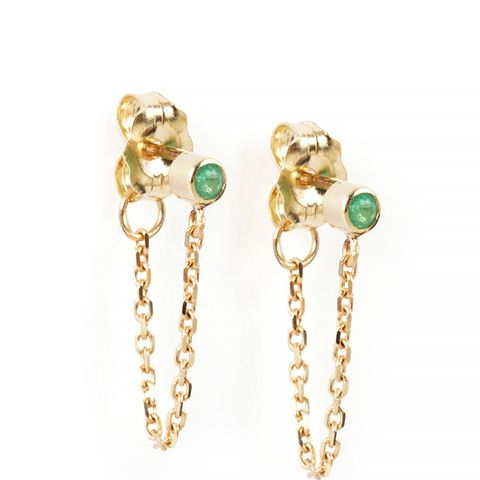 Chained to My Heart Earring