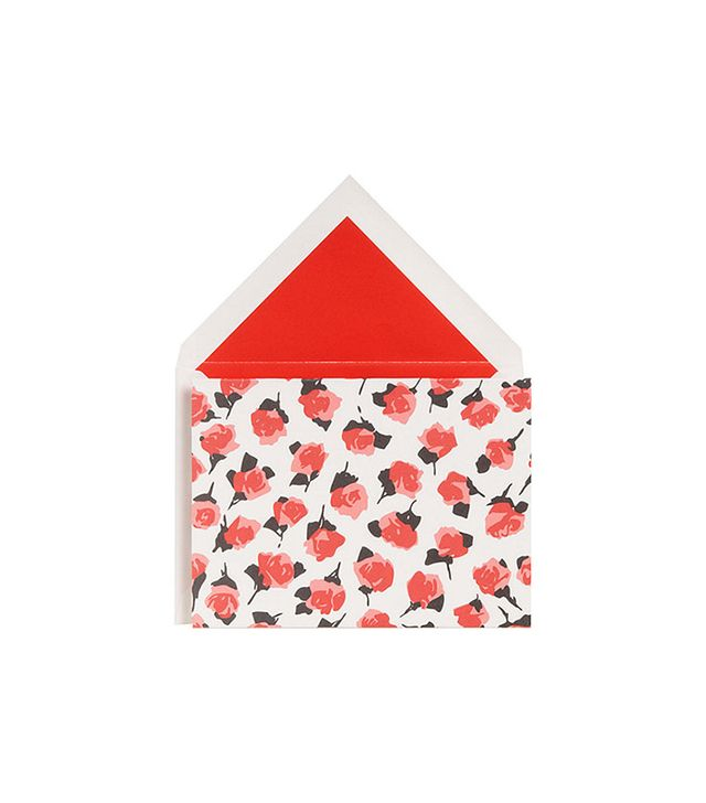 Kate Spade New York Roses Stationery Set of 10