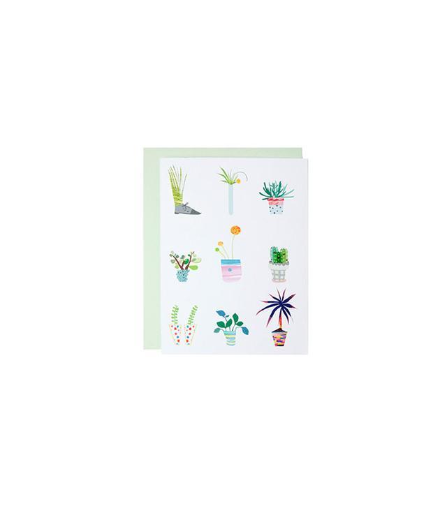 Hae Jin Park Potted Plants Card