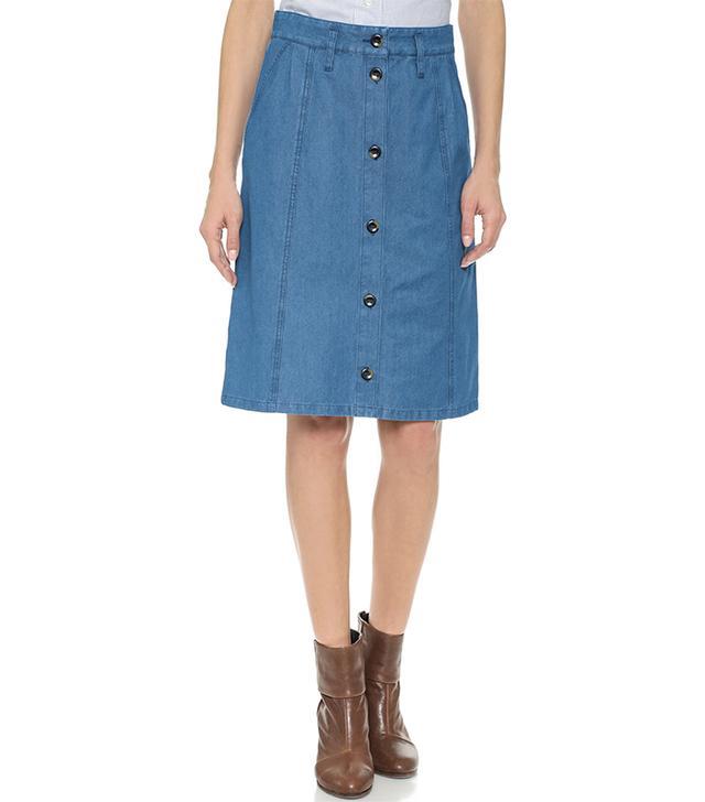 A.P.C. Ecole Skirt