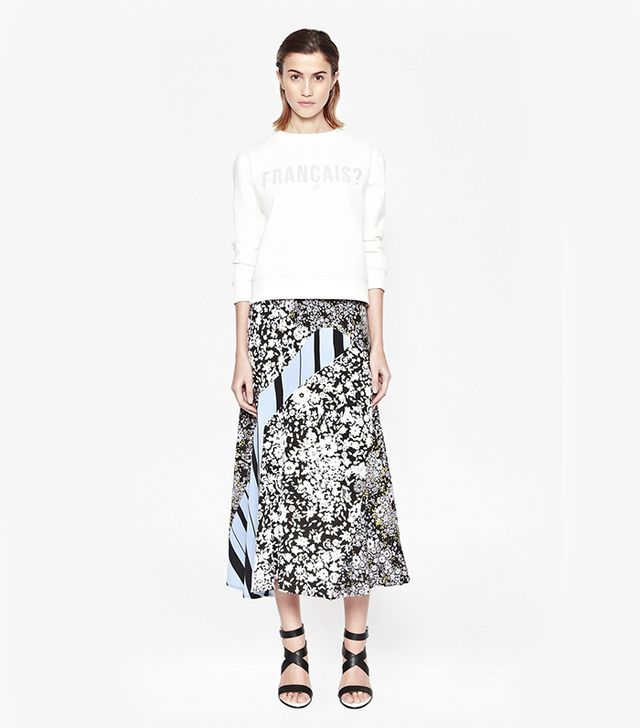 French Connection Freida Flower Maxi Skirt ($