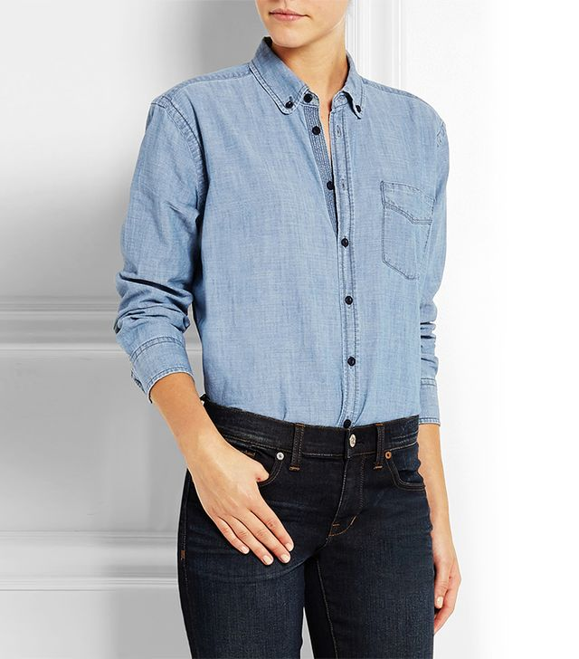 Madewell Cotton-Chambray Shirt