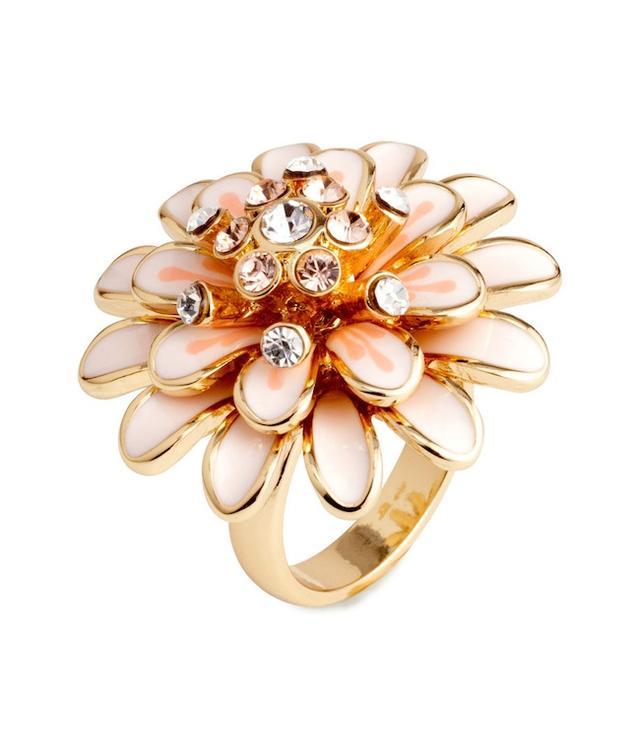 H&M Ring with Rhinestones