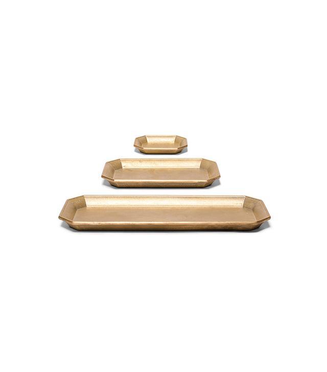 Oji Masanori,Kaufmann Mercantile Brass Desk Trays