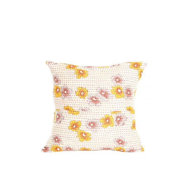 "The Little Market 14"" Kantha Pillow Case"