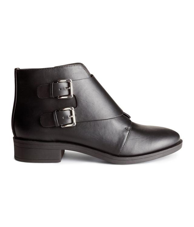 H&M Monkstrap Boots