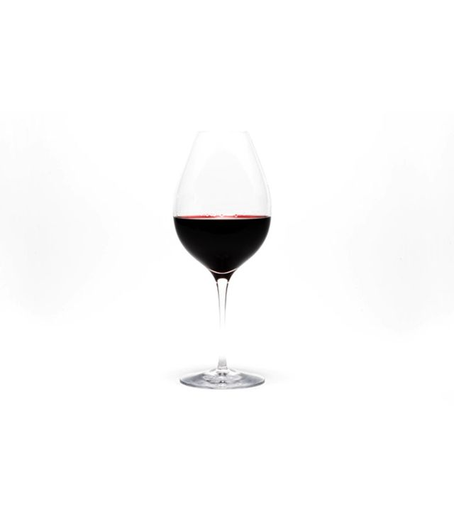 Orrefors Handblown Red Wine Glass