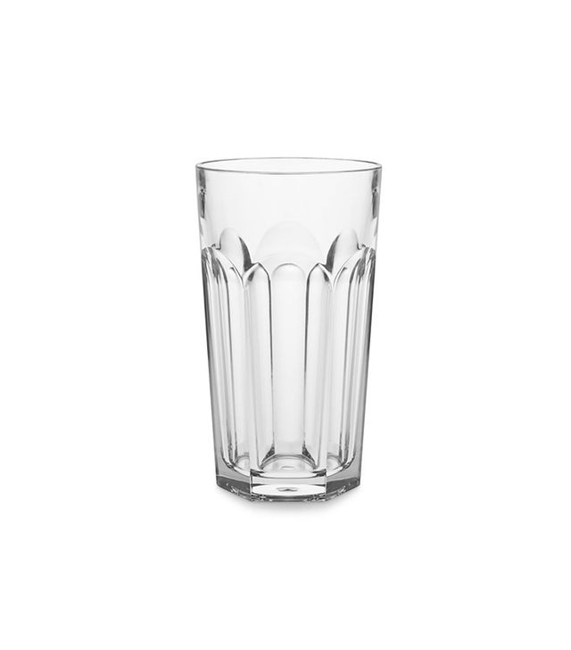 DuraClear Large Faceted Tumblers, Set of 6