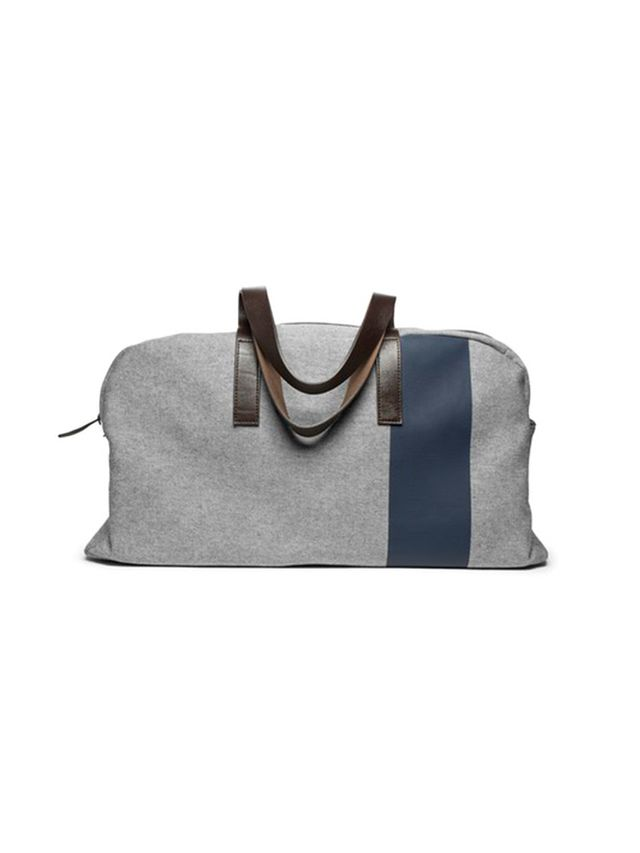 Everlane The Reverse-Denim Weekender